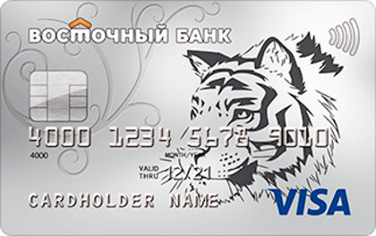 Кредитная карта Комфорт Банк Восточный